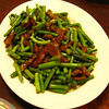 Beef with Garlic Scapes